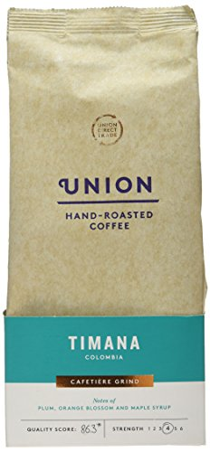 Union Hand Roasted Coffee Timana Colombia Ground Coffee
