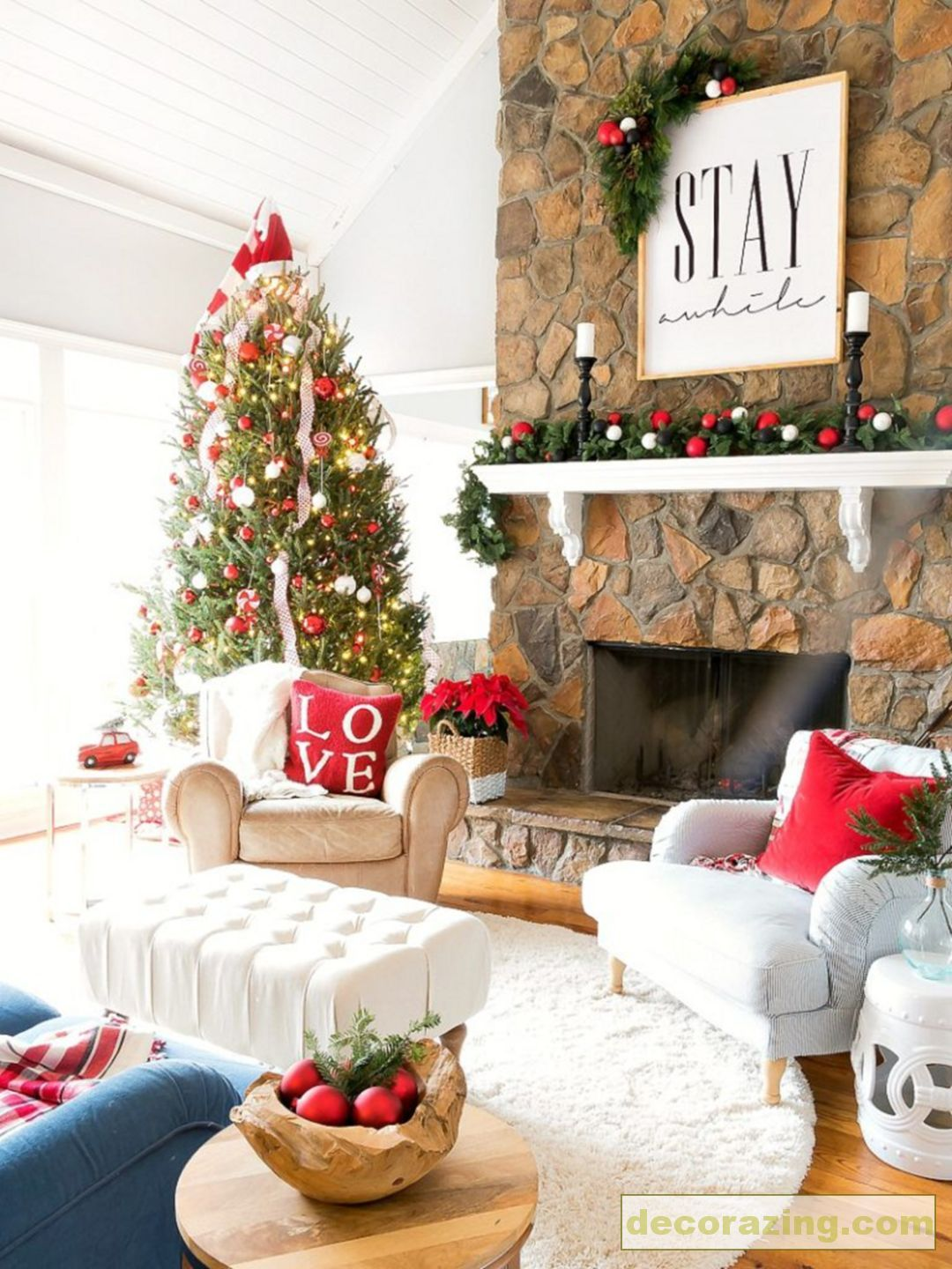 Great Idea 45+ Awesome Christmas Decoration Ideas For Your Home  Https://decorazing