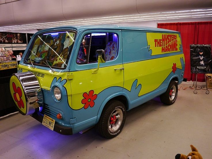 Real life cartoon vehicles mystery machine oh that 39 s interesting cars jeeps more cars - Scooby doo voiture ...