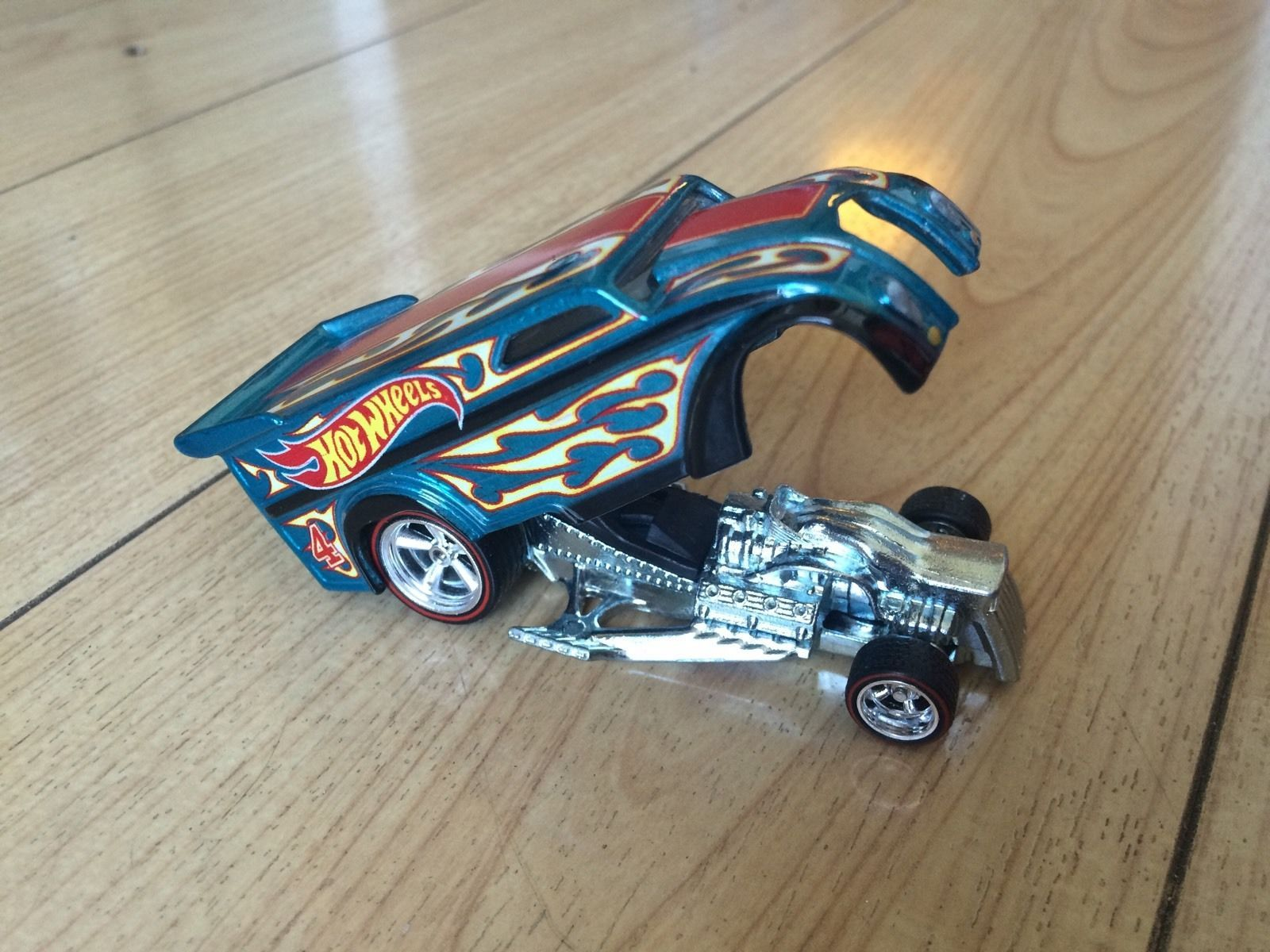 Hot Wheels 2016 Club Drag Dairy Prototype Engineering Test Sample ...