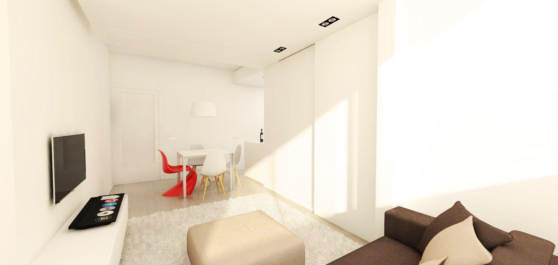 Apartamento #interiorismo #hogar #design #apartamento #barcelona #decoracion
