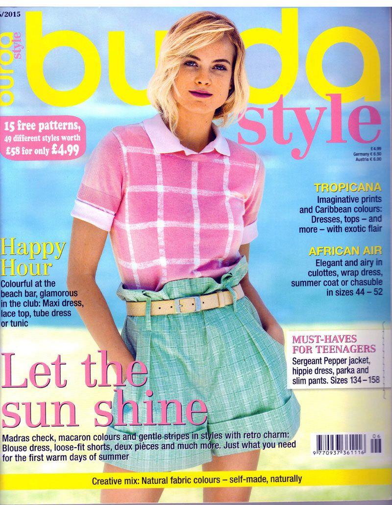 Burda style magazine 62015 english sewing patterns by burda style magazine 62015 english sewing patterns by honeyjamsuniques on etsy jeuxipadfo Image collections