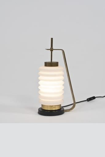 Angelo Lelli Edition Arredoluce Model 12795 Table Lamp 1950 On Paddle8 Lamp Table Lamp Lighting Decorative Table Lamps