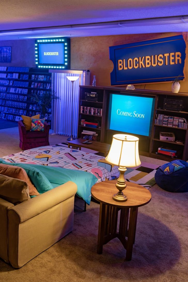 Airbnb Turned the Last Blockbuster Into a '90s Sleepover