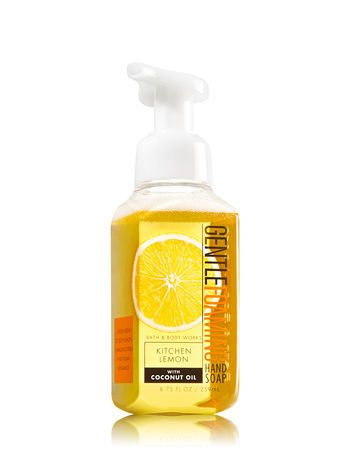Kitchen Lemon Gentle Foaming Hand Soap Bath And Body Works