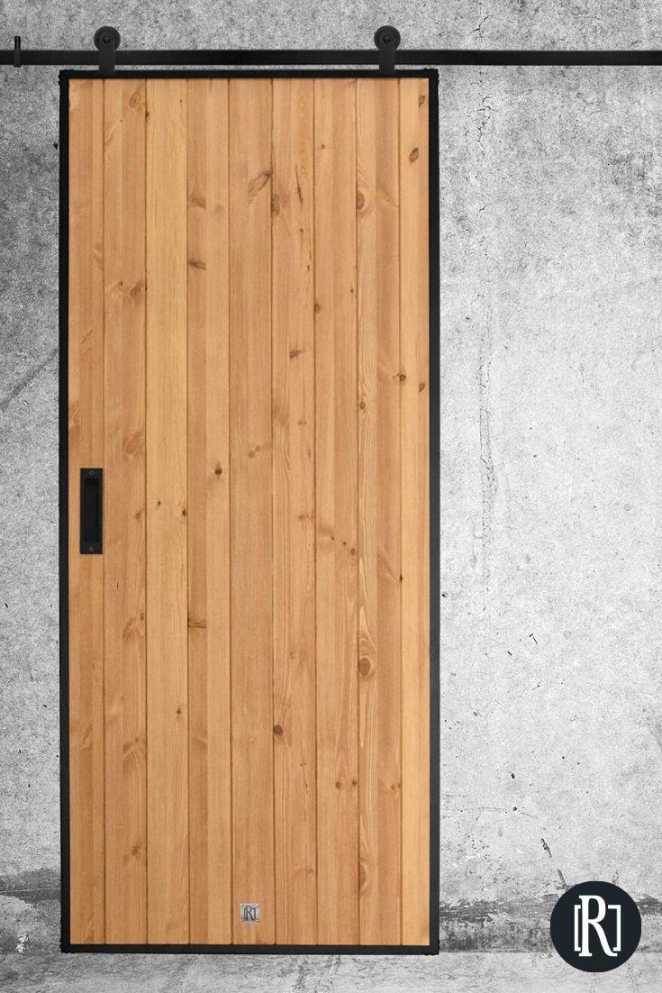 Sliding door LOFT, industrial design |  RENO sliding systems