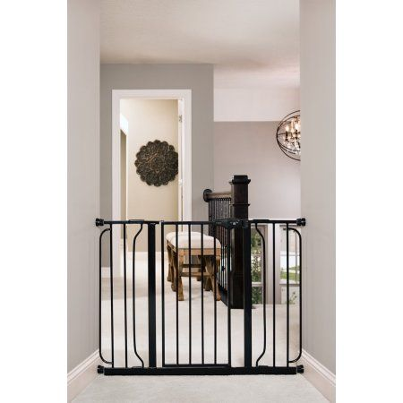 Regalo Easy Step 49-Inch Extra Wide Baby Gate Includes 4-Inch and 12-Inch