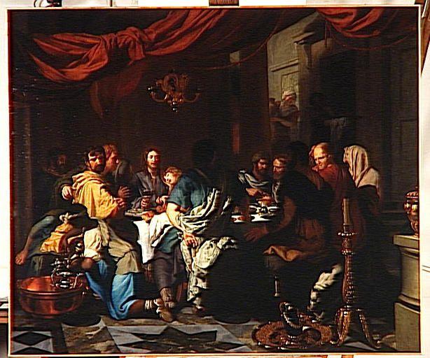 L'Institution de l'Eucharistie by Gerard de Lairesse