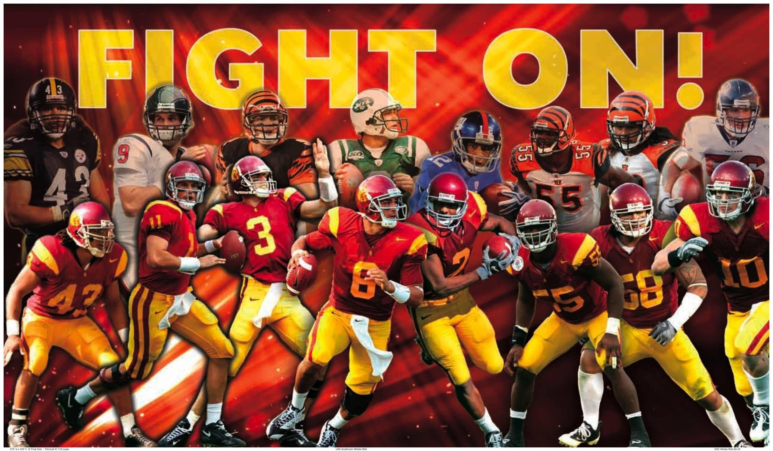 Usc Football Hd Wallpapers Footballncaateamwallpaper Usc Football Usc Trojans Football Trojans Football