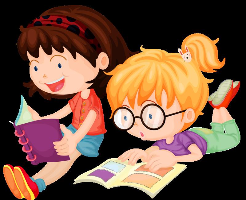 Ученики читают картинки