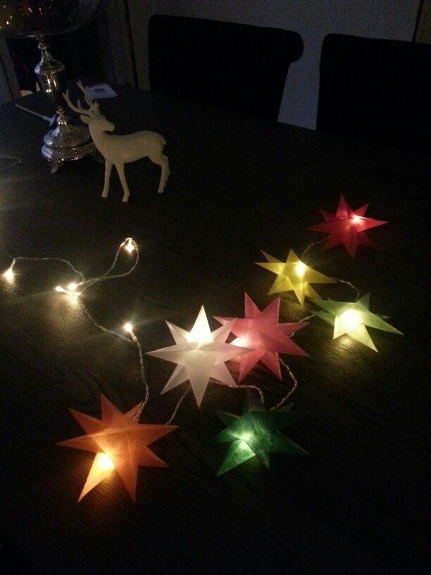 Papir stjerner :)
