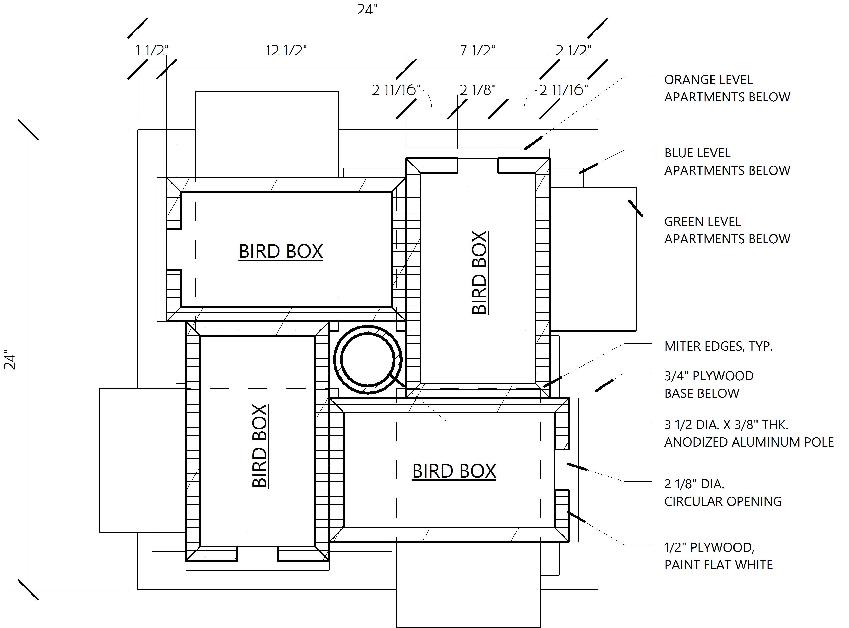 Martin Bird House Instruction For City Inhabitant Birdcage Design Ideas Purple Martin House Plans Purple Martin House Bird House Plans