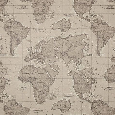 John Lewis World Map John Lewis World Map Teflon Coated Tablecloth