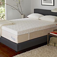 I like sleeping on the Tempur-Pedic mattress!...