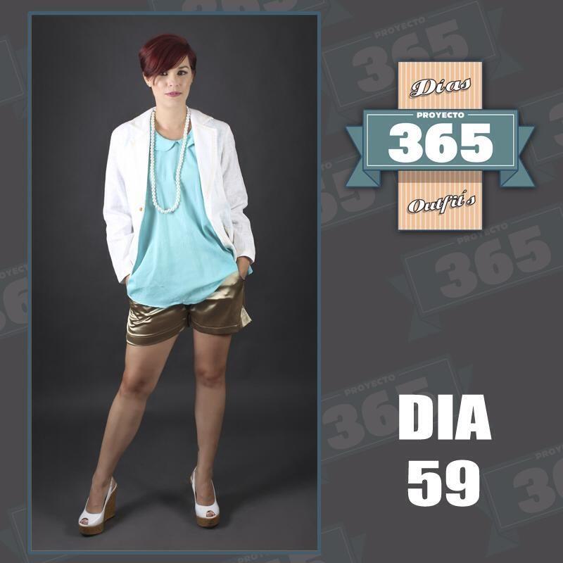 PROYECTO 365 DÍA 59: Chaqueta Ely Guerrero, blusón Buena Sombra y short metalizado @kaktus_moda. CRÉDITOS: @proyecto365venezuela @elclosetcriollo @Juan bautista Rodriguez @Aborigo @centrografico #Proyecto365 #Proyecto365Venezuela #HechoEnVenezuela #Venezuela #ModaVenezuela #Fashion #Design