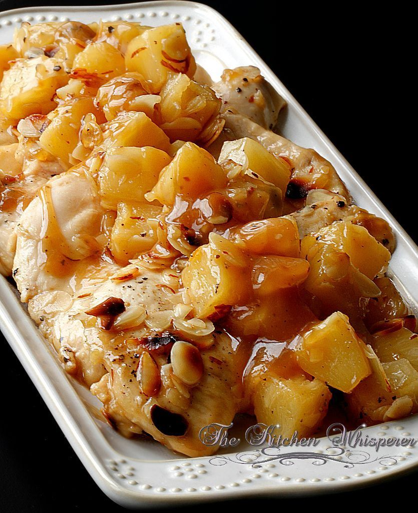 Baked Almond Pineapple Chicken