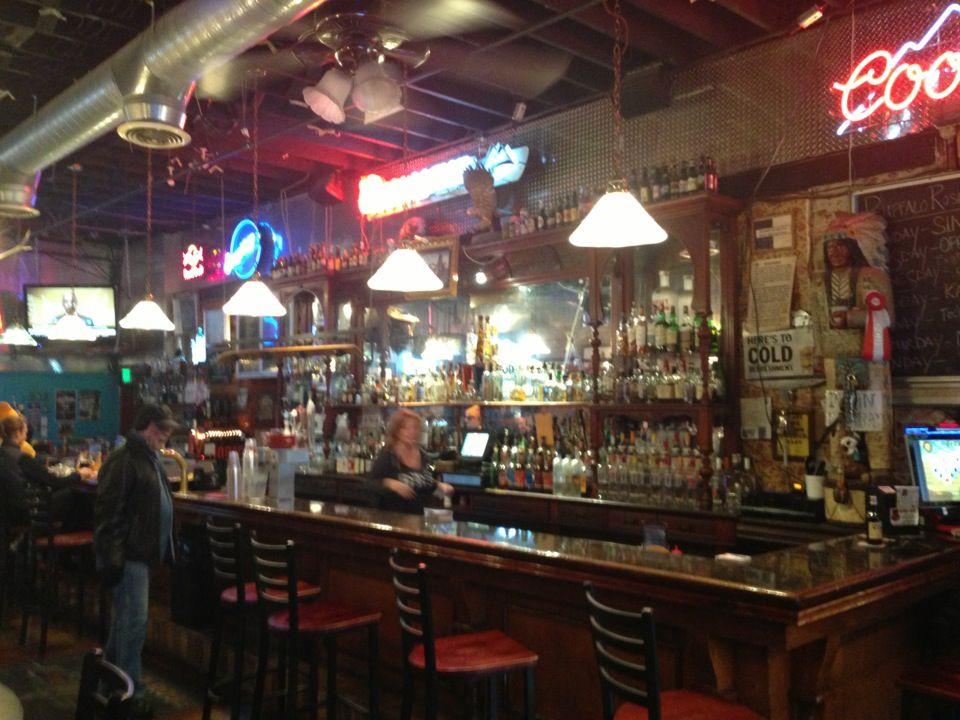 Buffalo Rose Saloon Old bar, Old things, Colorado