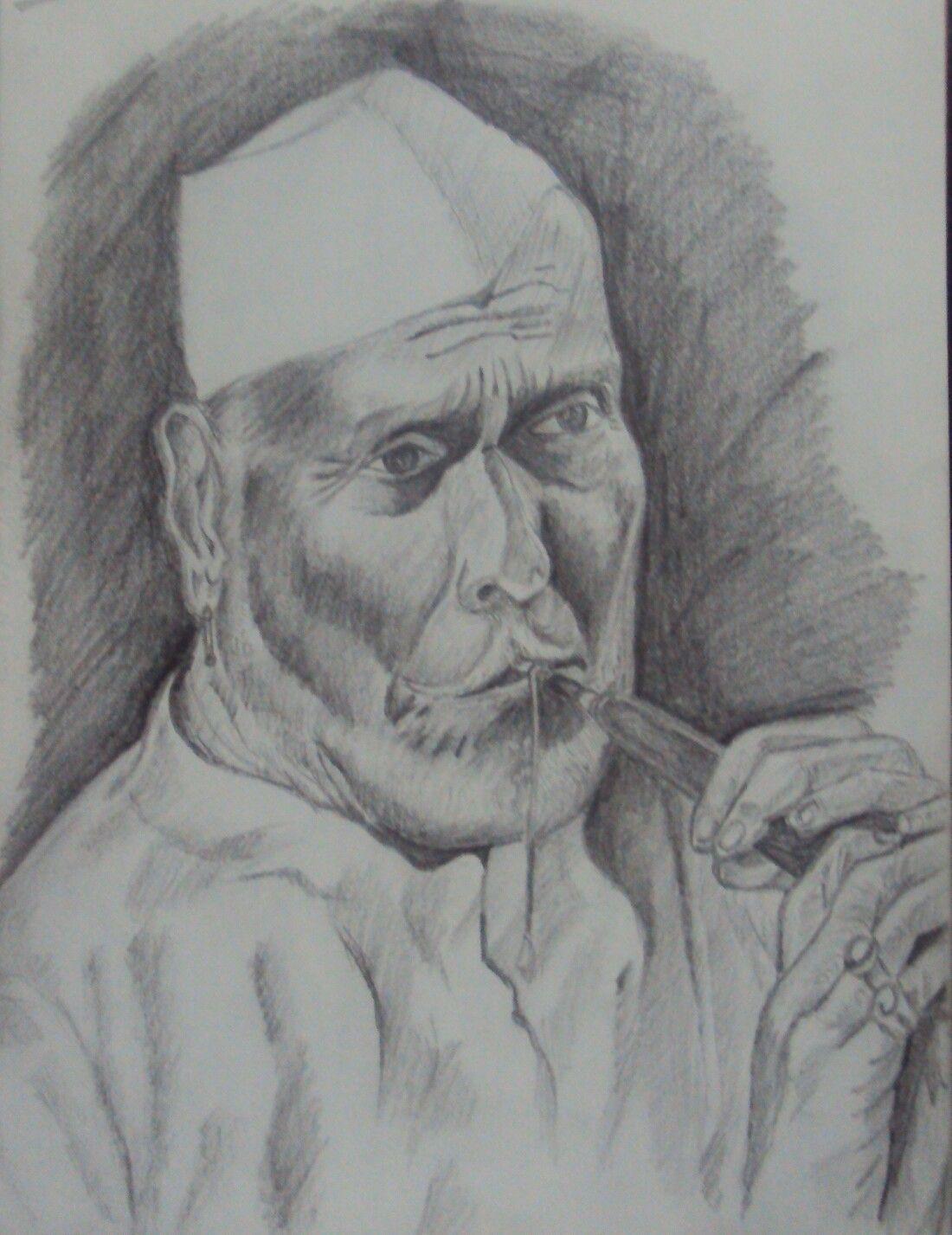 Pencil sketching portraits portrait paintings portrait