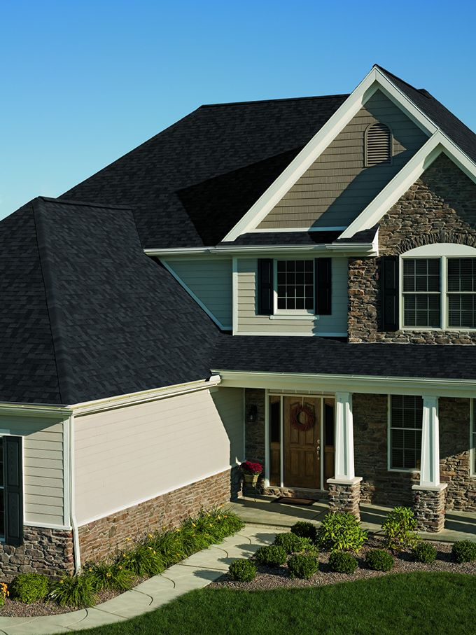 Best Black Onyx Roof Shingles Onyx Black Owens Corning 640 x 480
