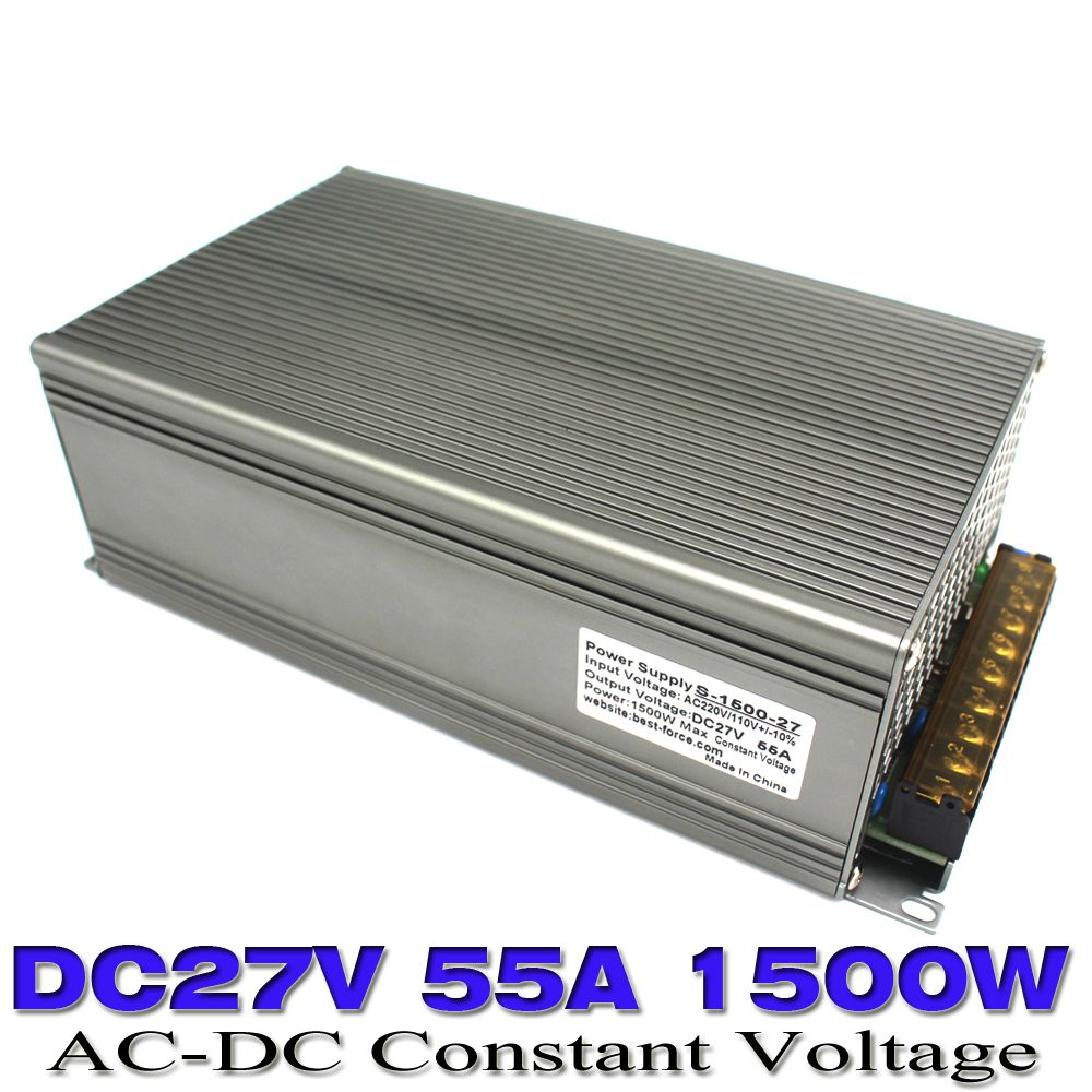 New Model Dc Power Supply 27v 55a 1500w Ac Converter Dc27v Led Driver Switching For Cnc Cctv Motor 3d Printer Price 106734 Gadgets