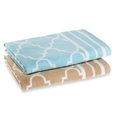 Fretwork Oversized Beach Towel Bedbathandbeyond Com With Images