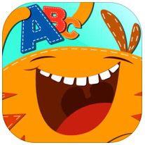 App Monster ABC | Este app tem controle para que os adultos possam configurar as ferramentas. Sugerido para criamças à partir de 3 anos. Auxilia no reconhecimento e traçado das letras, além de outras atividades educativas.
