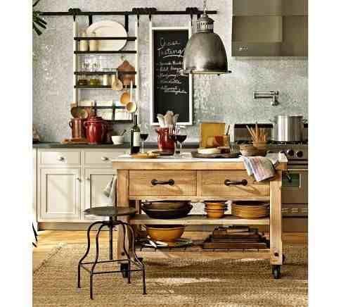 mesa auxiliar de cocina isla de cocina somos fabricantes | Kitchens ...
