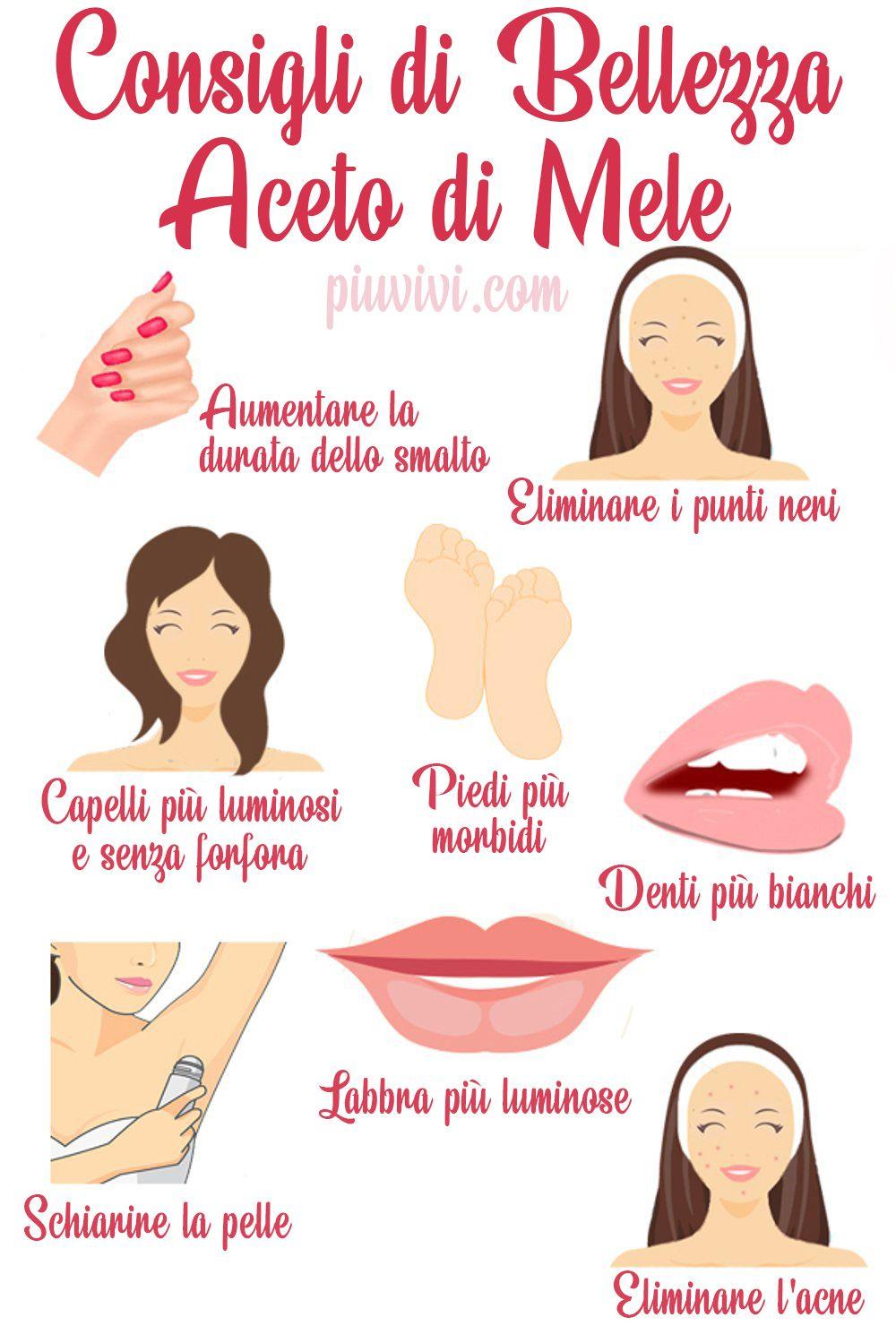 Consigli Di Bellezza Usando L Aceto Di Sidro Di Mele Beauty In