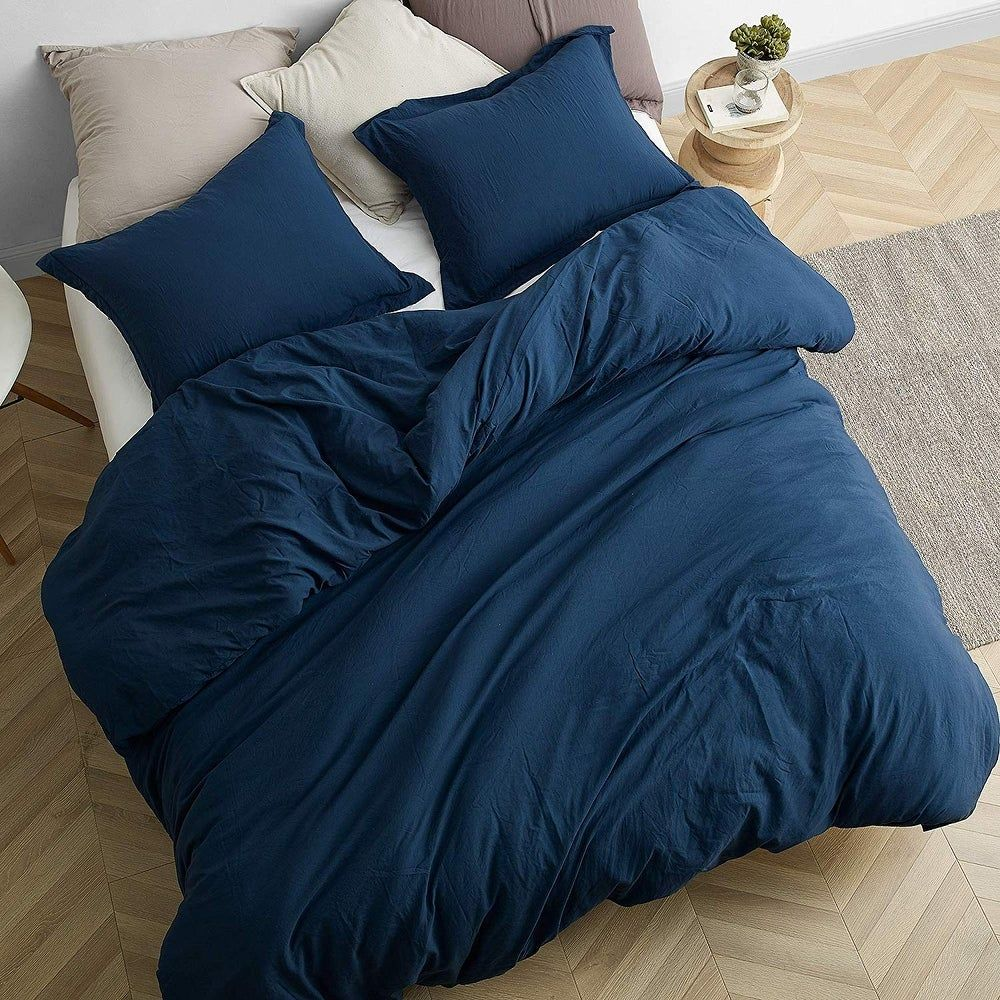 Overstock Com Online Shopping Bedding Furniture Electronics Jewelry Clothing More Comforter Sets Weighted Comforter Blue Comforter Bedroom Navy blue twin xl comforter