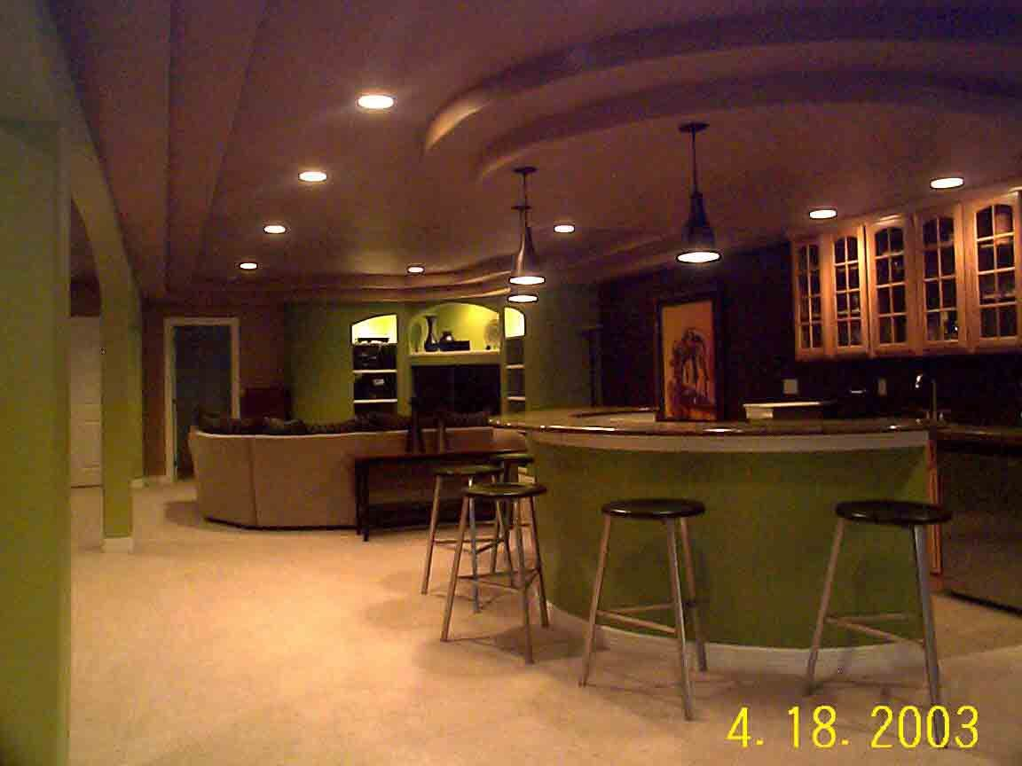 Image detail for -Basement Homes Decorating L Basement Renovation Unique Exterior Design