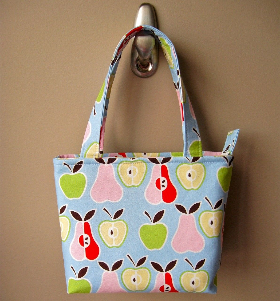 Quick Zip Lunch Bag Sewing Pattern Diy bags for school