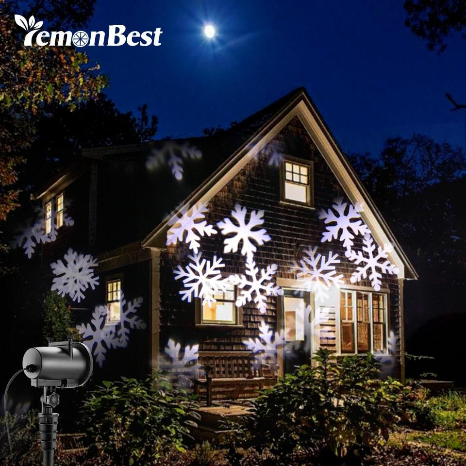 12 types 8w led snowflake effect lights outdoor christmas light 12 types 8w led snowflake effect lights outdoor christmas light projector garden xmas tree decoration landscape aloadofball Gallery