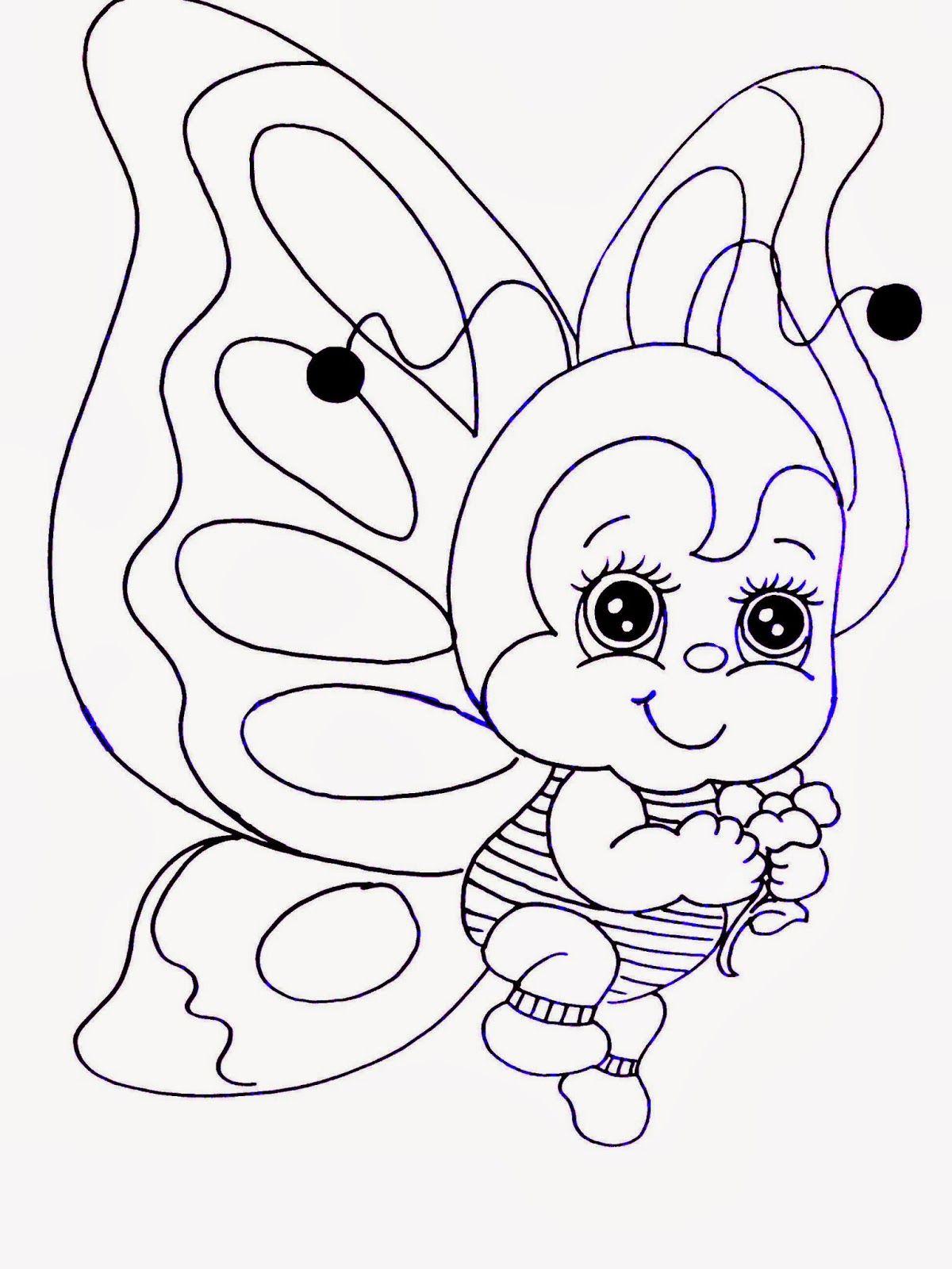 Mariposa   Riscos para bordados   Pinterest   Embroidery, Clip art ...