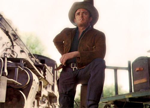 BLUE TRAIN - Johnny Cash - Sun Records - Publicity Still.