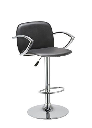 Bar Stool With Backrest Armrest Duhome WY-406 Hydraulic