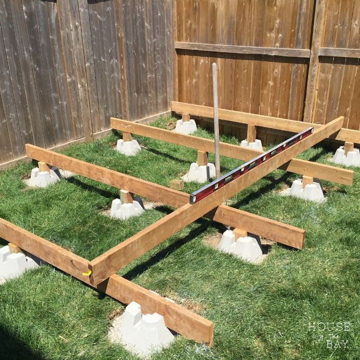 Amazing Shed Plans   Floating_deck_level Beams   Now You Can Build ANY Shed  In A Weekend Even If Youu0027ve Zero Woodworking Experience!