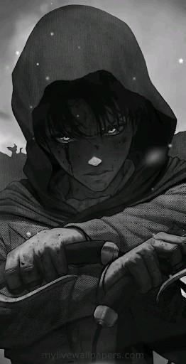 Photo of | Save & Follow | Levi Ackerman • Live Wallpaper • Attack on Titan • Shingeki no Kyojin