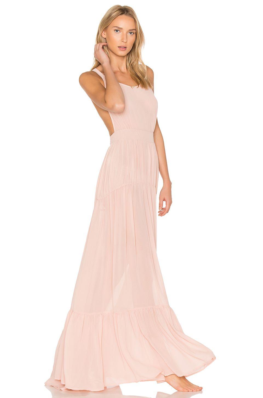 Daydream Nation Hopeless LA Maxi Dress en Ballerina | REVOLVE ...