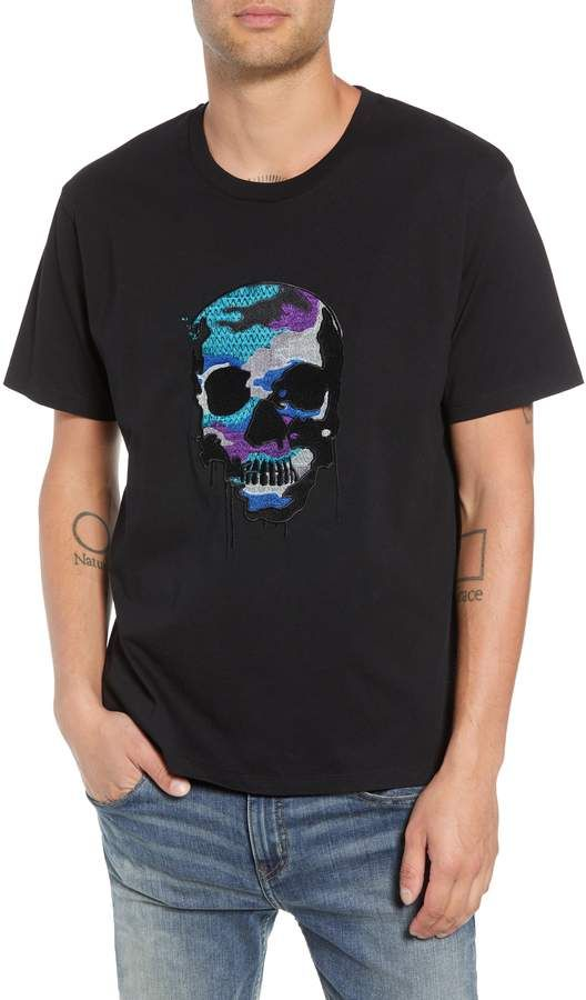 ce78eda4 The Kooples Embroidered Skull T-Shirt | Products | The kooples ...
