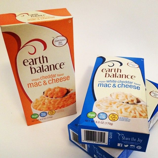 """So who's tried @EarthBalance's new Mac & Cheese? YUM."""