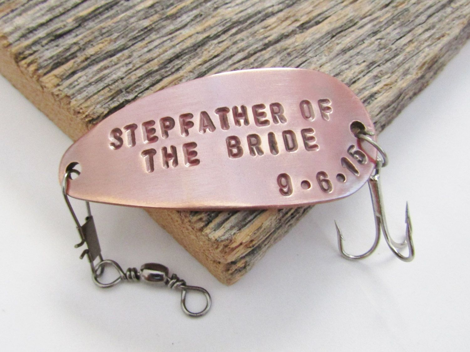 Stepfather Of The Bride Gift For Step Father Stepdaughter Steppa Idea Wedding Fishing Lure Pa
