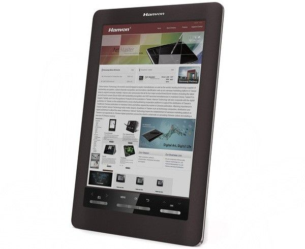 Hanvon To Be First With Color E Ink Reader Sizes It At 10 Inches Makes It A Touchscreen E Ink Display Ereader Ink