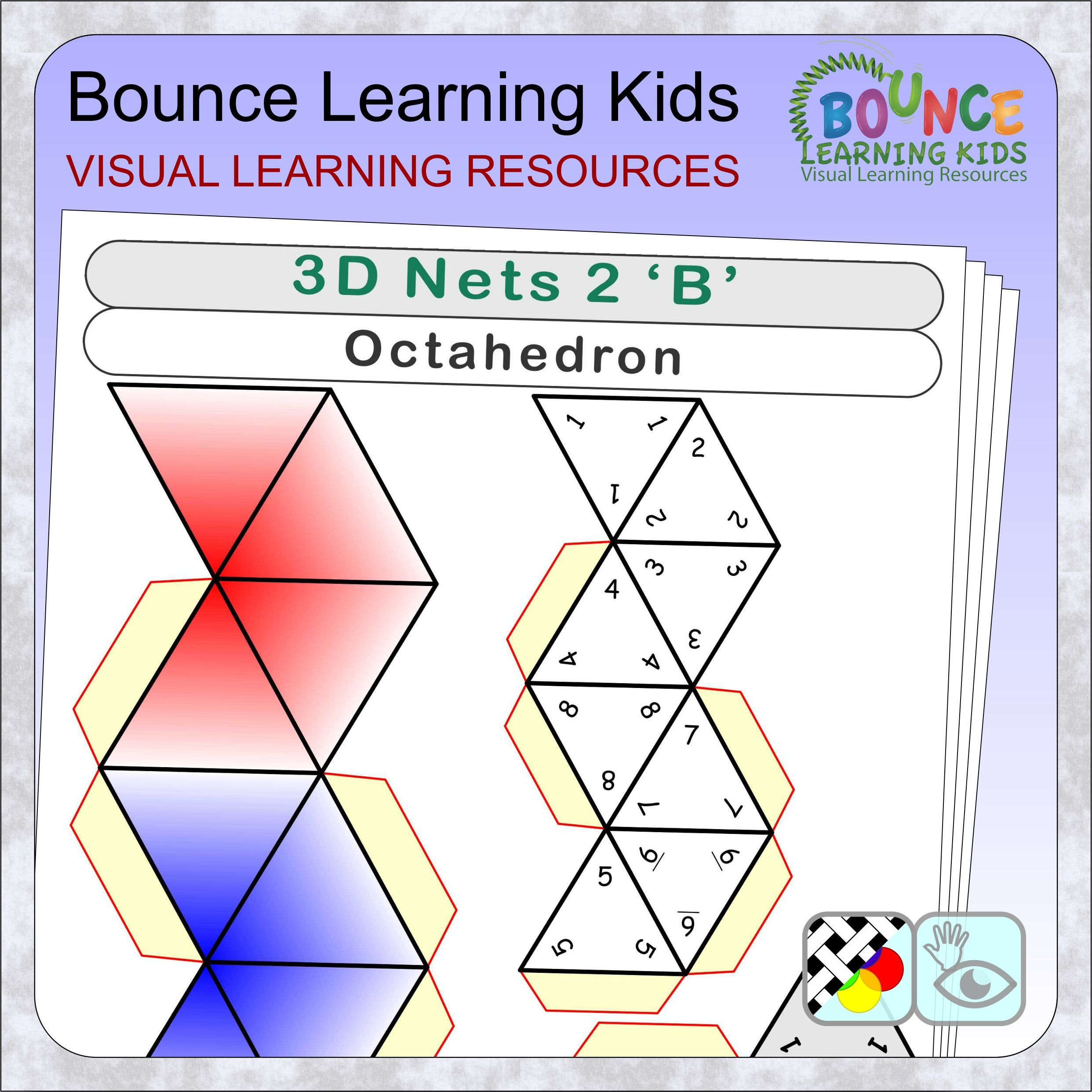 3d Nets 2 16 Distance Learning Worksheets For Hand Eye