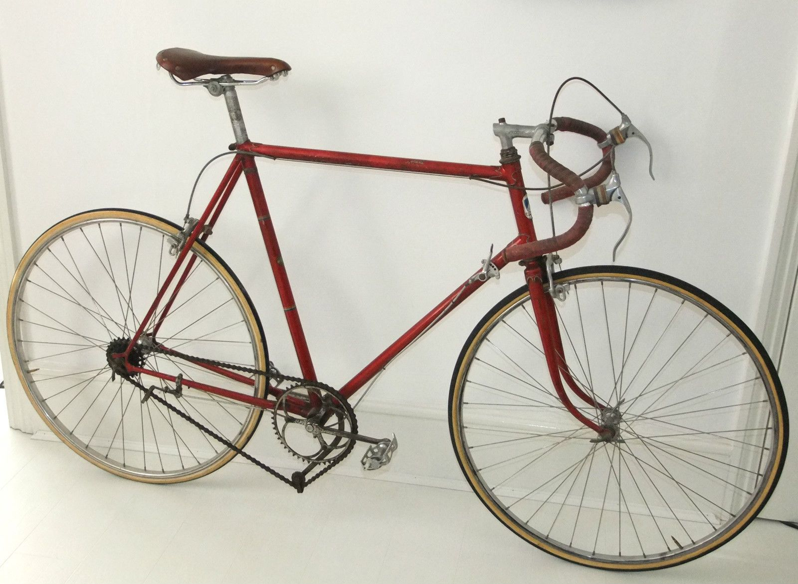 vintage peugeot cycles huret super champion osgear brooks saddle