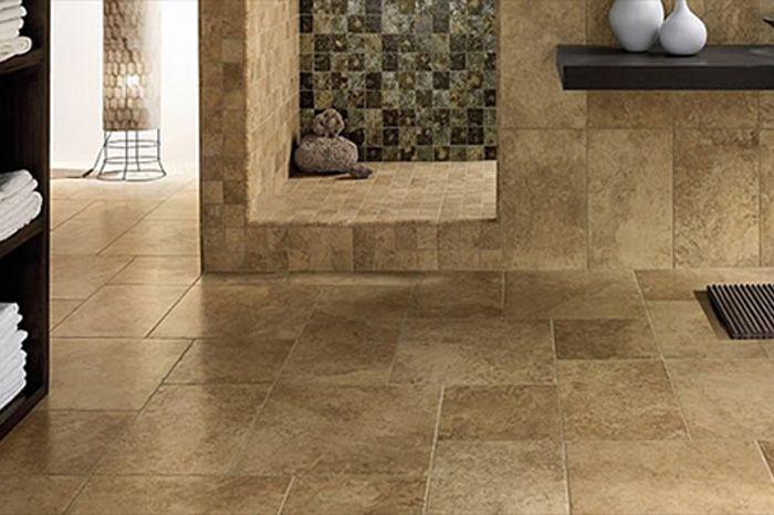 Bathroom Travertine Tile Floors And Flooring In Near Naples Florida
