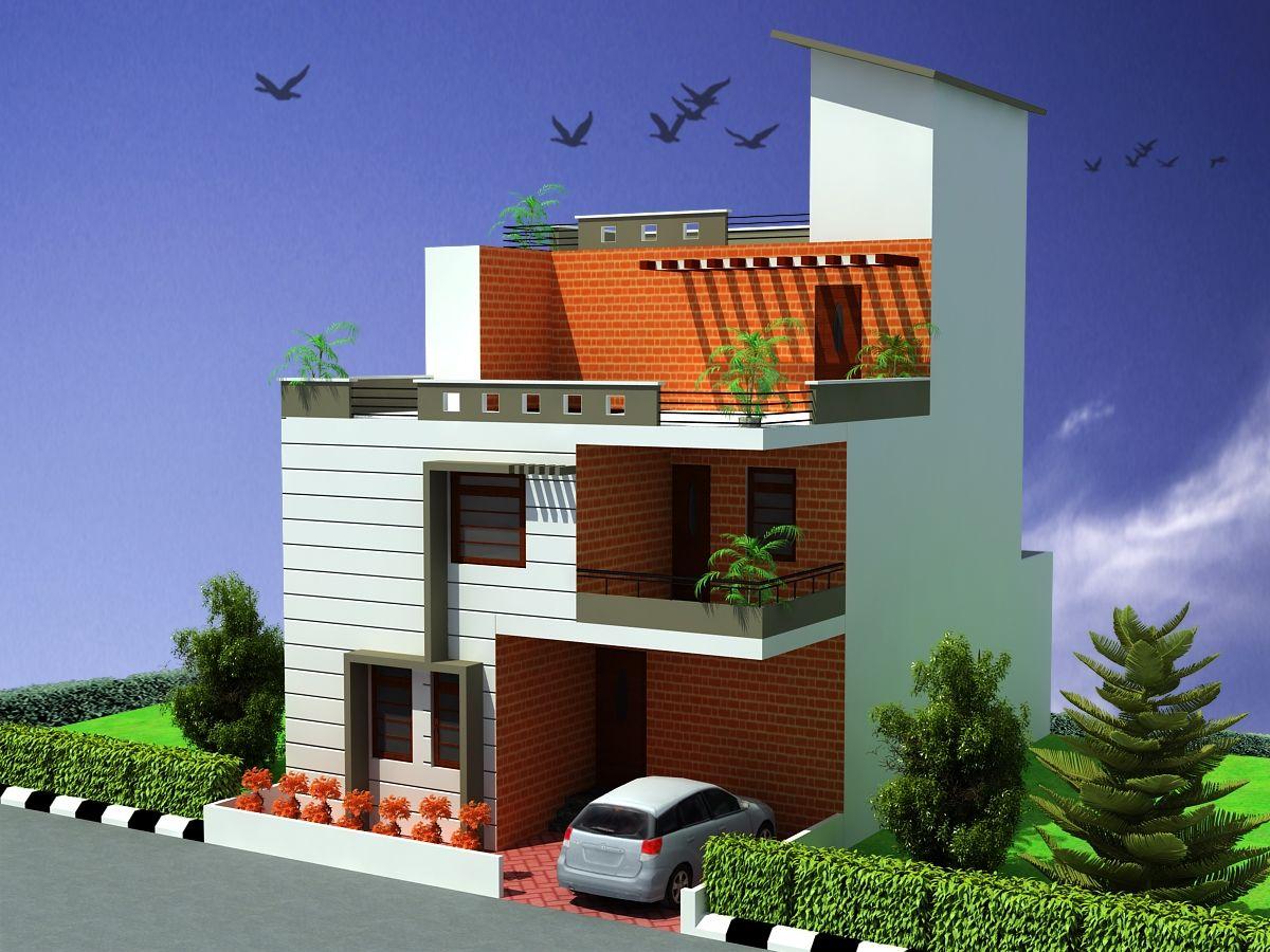 House design naksha - This Is A Beautiful Three Bedrooms Triplex House Design One Bedrooms Attached