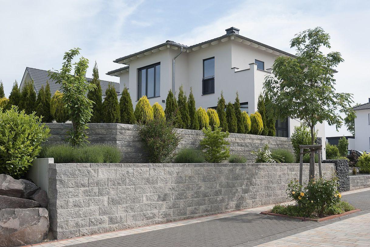 Vertica mauer von rinn betonsteine und natursteine rinn for Natursteine garten