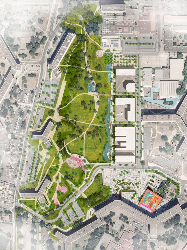 Petit Bois Park Upgrade In The Bellefontaine Neighbourhood Landscape Architecture Wor Landscape Plans Landscape Architecture Plan Landscape Architecture Park