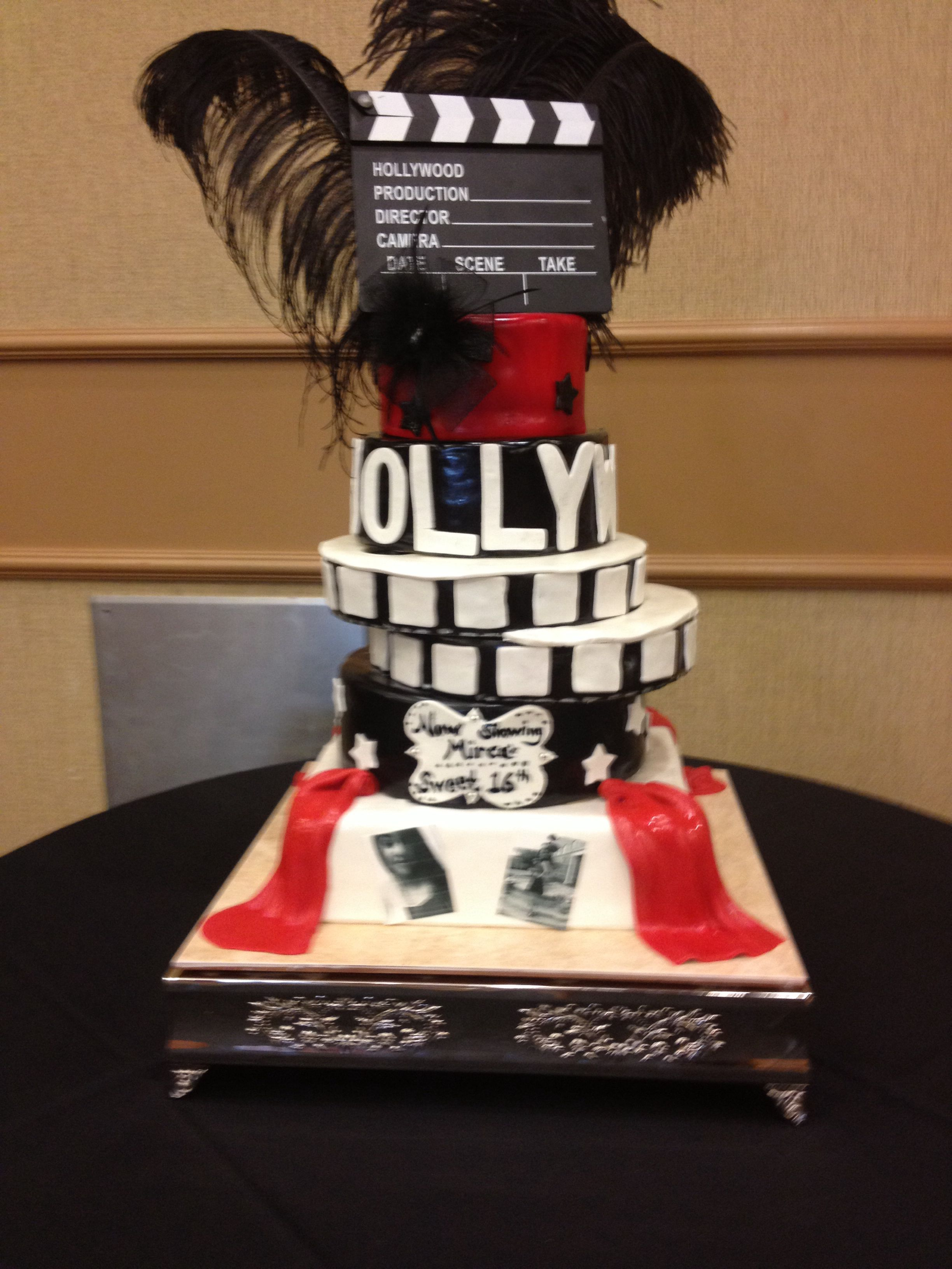Hollywood Birthday Cake Birthday Cakes Special Occasion Cakes 3