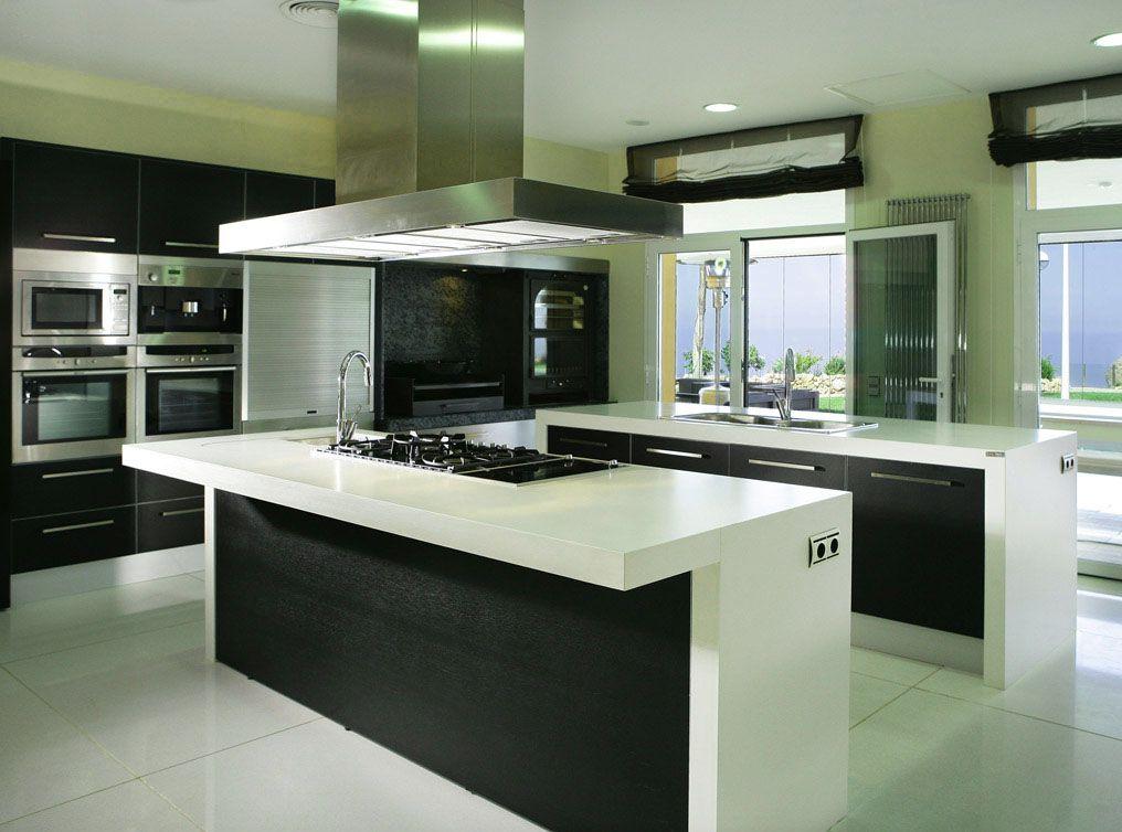 decoracion de cocinas modernas minimalista   Cocinas   Pinterest ...